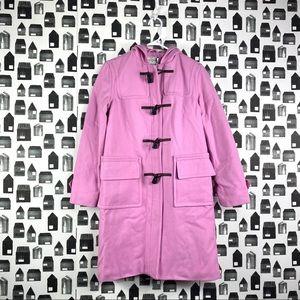 Isaac Mizrahi | NWT Pink Hooded Pea Coat